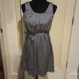 Gorgeous flowing polka dot dress - Modcloth